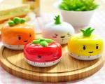 تایمر غذا طرح سبزیجات